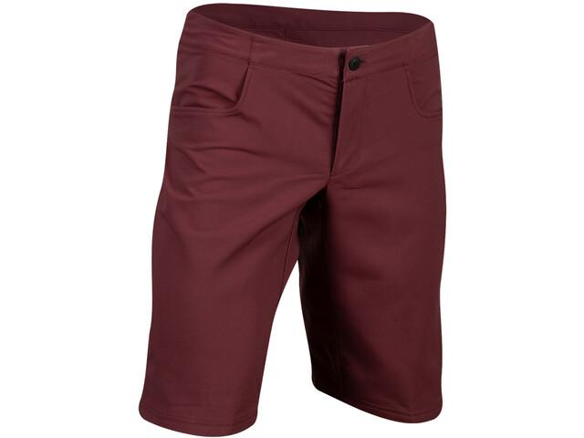 PEARL iZUMi Canyon Shell Shorts Heren, garnet